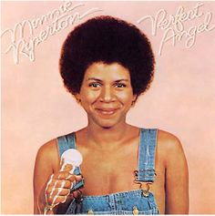 One of my favorite iconic shots of all time: Minnie Riperton on the cover of her 1974 album, Perfect Angel. Photo: Barry Feinstein.