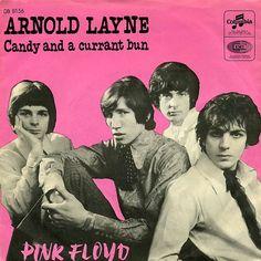 Pink Floyd Denmark Single 1967