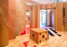 #innovatig #popupshop #popupstore #popupboutique #popup by @Cartonlab for @munichsports #fashion #retail #architecture #design http://fb.me/24dyjEVok