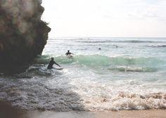 Blute Point Beach in Uluwatu