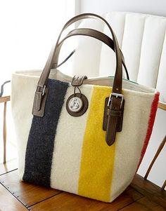 wantz! Hudson bay blanket purse