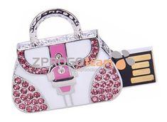 NEW: Promotional USB flash drive luxury in the design handbag with decorative sparkling stones. #USBflashdrivemetal #USBflashdiskkovovy #originalpromotionalitem #originalnireklamnipredmet #gift #darek #USBluxury #USBluxusni #hanbag #kabelka