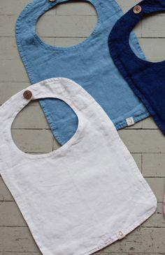 Linen Baby Bibs | Etsy