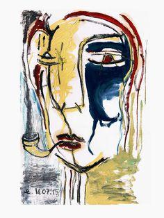 Santiago - Cabeza de mujer con pipa