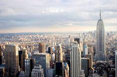 Het lijkt me ontzettend tof om de grote steden van Amerika te bekijken.. Ik ben er nog nooit geweest dus ik ben heel benieuwd hoe de cultuur daar is!