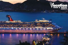 Set sail on a four-day Carnival cruise, plus a two-night hotel stay, for just $ 599.