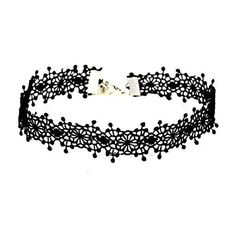 Vintage Floral Crochet Choker Necklace ($1.40) ❤ liked on Polyvore featuring jewelry, necklaces, floral jewelry, macrame necklace, vintage jewellery, choker jewelry and macrame jewelry