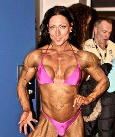 Marthe Sundby Muscle Fitness, You Fitness, Fitness Models, Female Athletes, Strong Women, Work Hard, Bikinis, Swimwear, Bodybuilding