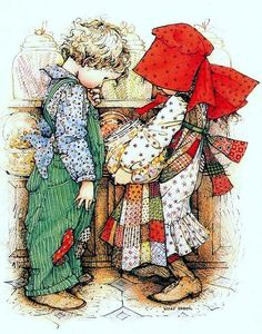 Holly Hobbie......shopping for candy