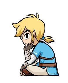 Image result for breath of the wild toon link