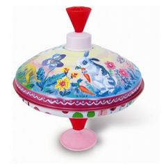 #kinderspeelgoed onder de 20 euro   Prachtige tol #nathalielete via Prikkeltje