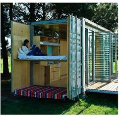 Ecopod Shipping Container Home Building A Container Home, Container Buildings, Cargo Container, Container Design, Container Cabin, Container Office, Maison Transportable, Buy Shipping Container, Shipping Containers