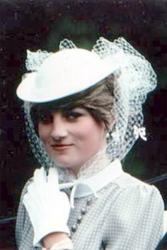 260) June 19, 1981 - there was a record turnout to see Lady Diana on the last day of the Royal Ascot.