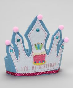 Felt Birthday Crown
