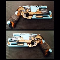 Steam Punk Nerf Gun by ApocalypticQM on Etsy, $29.99