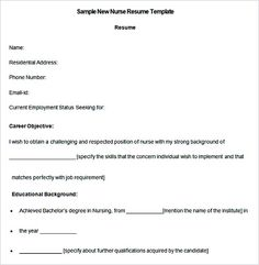 Telemetry Nurse Resume Charge Nurse Resume Example  12 Nursing Resume Template  When