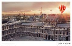 Exclusive content from @Louis Vuitton's L'Invitation au Voyage campaign.