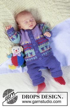 Baby - Free knitting patterns and crochet patterns by DROPS Design Baby Knitting Patterns Free Newborn, Knitting For Kids, Baby Patterns, Free Knitting, Crochet Patterns, Drops Design, Baby Fair, Drops Baby, Magazine Drops