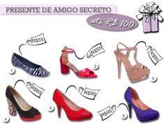 Presentes de Amigo Secreto, Amigo oculto, Amigo Invisível  http://blogdesapato.wordpress.com/2013/12/12/presente-de-amigo-secreto-ou-natal-ate-100-reais/