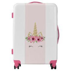 #Unicorn Luggage Suitcase Gift - #luggage #suitcase #suitcases #bags #trunk #trunks