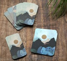 Beautiful business cards and notecards by Cathy McMurray.