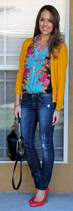 Today's Everyday Fashion: So Much Color