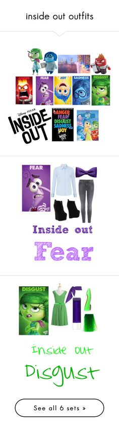 """""""inside out outfits"""" by chocolate-heartlover ❤ liked on Polyvore"""