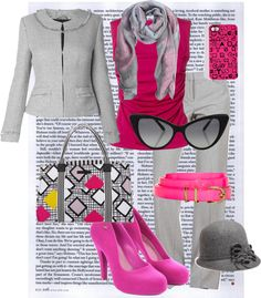 """""""grey dream"""" by launet on Polyvore"""