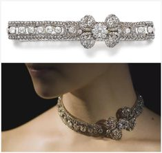 Two separate pieces combined, both with imperial Russian heritage. The Royal Order of Sartorial Splendor: Tiara Thursday