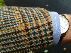 Bold Glen check Tweed 3 roll2 sports jacket