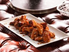 Honey-Ginger Chicken Wings from CookingChannelTV.com