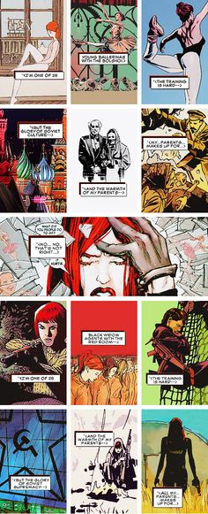 Black Widow: I can't tell what's true anymore.
