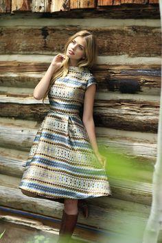Shiloh Fit & Flare Dress