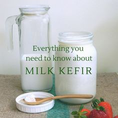 Want to make homemade milk kefir? Learn everything you need to know about how to make your own probiotic and delicious kefir. Water Kefir, Kefir Milk, Kefir How To Make, Making Kefir, Kefir Probiotic, Kefir Culture, Kefir Benefits, Kefir Recipes, Cooking