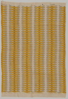 Olga Lee Baughman; Printed Fabric Design forL. Anton Maix Fabrics, 1950s.