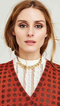 Olivia Palermo for Vogue MINI CHINA May 28, 2015 - Louis Vuitton white top and necklace