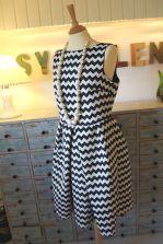 Chevron Vintage 50'ies Dress