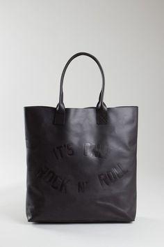 Rock N' Roll Leather Shopper