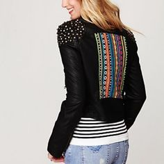 "Selling this ""HOST PICKblack Vegan Leather Moto Jacket"" in my Poshmark closet! My username is: richbororiches. #shopmycloset #poshmark #fashion #shopping #style #forsale #Free People #Jackets & Blazers"