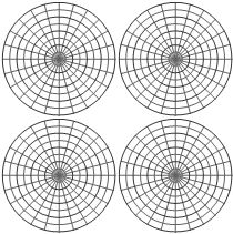 Polar Coordinate Graph Paper You May Select Different Angular