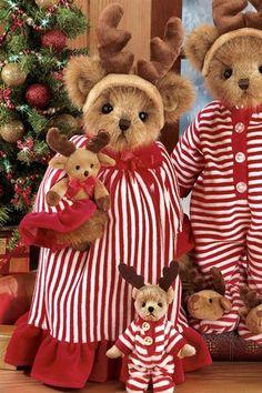 Bearington Pircilla and Prancer Bear Teddy Bear Cartoon, Cute Teddy Bears, Teddy Bear Pictures, Bear Pics, Christmas Teddy Bear, Boyds Bears, Love Bear, Bear Doll, Bear Art