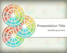 Free Color PPT template slide design for presentations