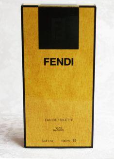Fendi Eau De Toilette Vintage Fendi Perfumes Discontinued | Etsy Fendi Perfume, Parfum Spray, Glass Bottles, No Response, Conditioner, Fragrance, Product Launch, Soap, Vintage