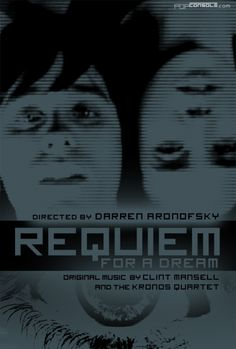 Requiem for a dream Requiem For A Dream, Darren Aronofsky, Forrest Gump, Movies Showing, Tv, Music, Books, Movie Posters, Posters