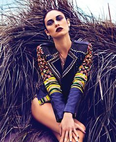 Olga Kurylenko Revisits Her Modeling Roots for Blackbooks December 2012/ January…
