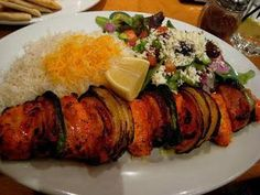 Learn how to cook/make Chicken Shashlik. Recipe of Chicken Shashlik with ingredients and cooking instruction. Hot Appetizers, Vegetarian Appetizers, Appetizer Recipes, Boneless Chicken, Tandoori Chicken, Chicken Shashlik, Boiled Chicken, Red Chili Powder