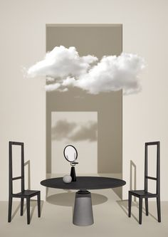 • A CLOUD IN THE ROOM • CONCEPT IMAGE + STYLING #ELISABETTABONGIORNI // PROJECT DEVELOPED FOR #TERZOPIANO #SETDESIGN