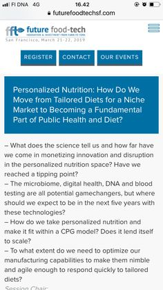 Food Tech, Public Health, Innovation, How To Become, Nutrition, Science, Marketing
