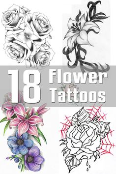 Tribal Tattoo Designs - The Body is a Canvas Tribal Tattoo Designs, Flower Tattoo Designs, Tribal Tattoos, Lilly Flower Tattoo, Flower Tattoos, Rainbow Chicken, Traditional Snake Tattoo, Body Tattoo Design, Tattoo Flash Sheet