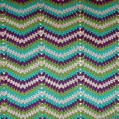 The Faded Ripple Pattern is a new and updated take on a typical zig-zag pattern. This ripple crochet pattern is an intermediate pattern since stitch placement is key to achieve the intended look.